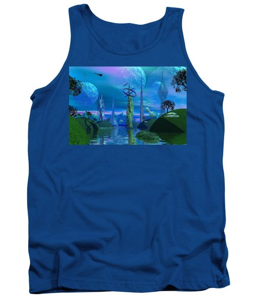 Tower Of Hurn Tank Top