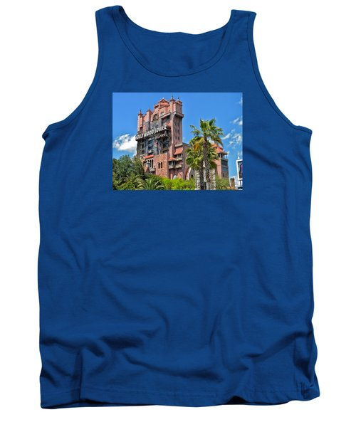 Tower Of Terror Tank Top by Thomas Woolworth