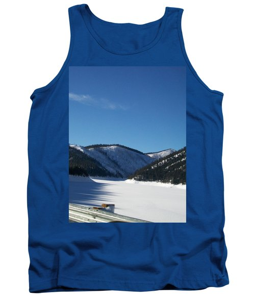 Tree Shadows Tank Top