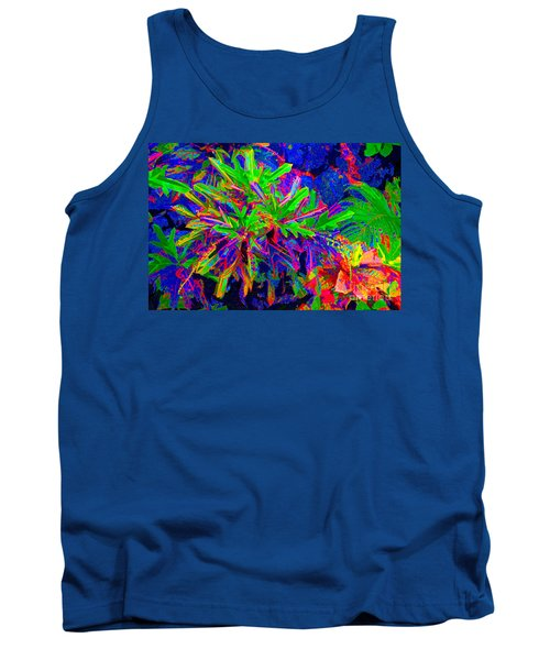 Tank Top featuring the photograph Tropicals Gone Wild by David Lawson