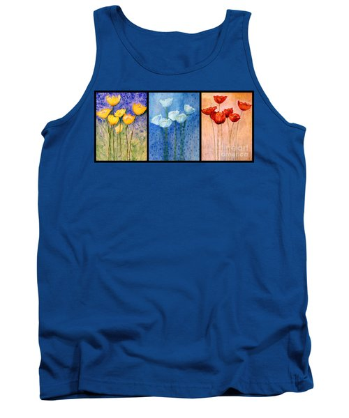 Tulips Collage  Tank Top