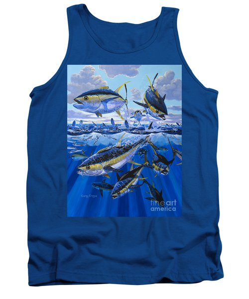 Tuna Rampage Off0018 Tank Top by Carey Chen