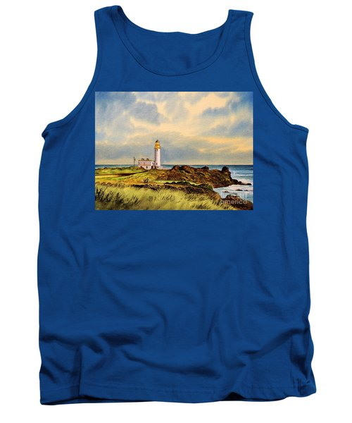 Turnberry Golf Course 9th Tee Tank Top