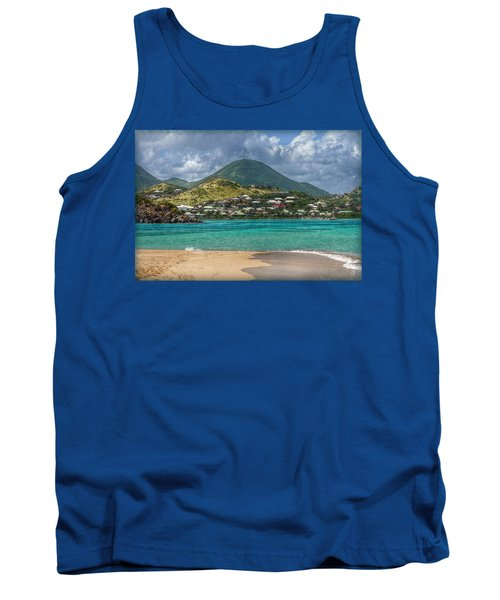 Turquoise Paradise Tank Top by Hanny Heim