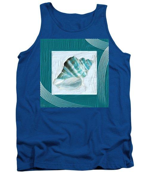 Turquoise Seashells Xxii Tank Top