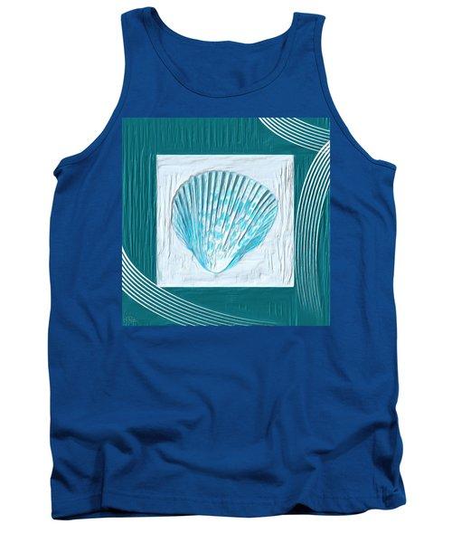 Turquoise Seashells Xxiii Tank Top