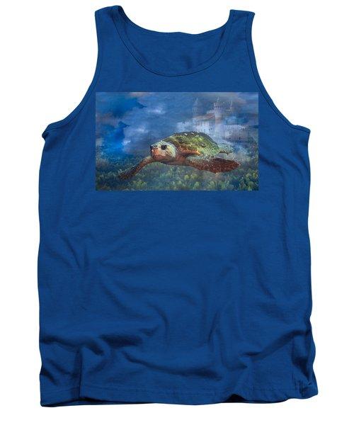 Turtle In Atlantis Tank Top