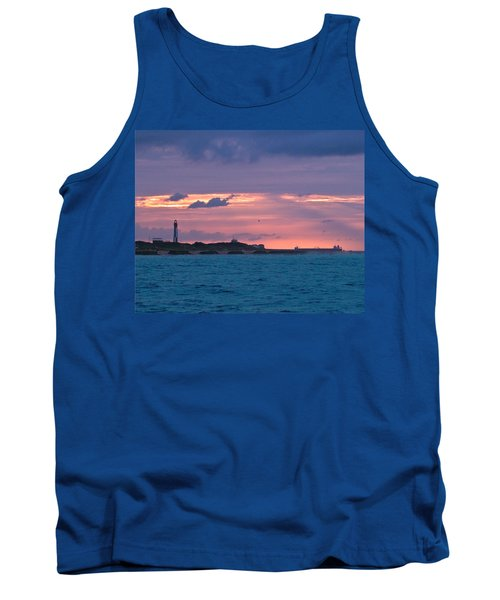 Twilight Over Cape Henry Tank Top