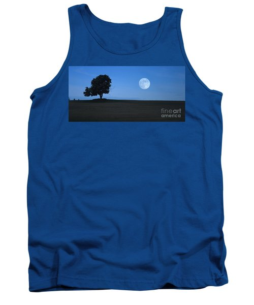 Tank Top featuring the photograph Twilight Solitude by Sharon Elliott