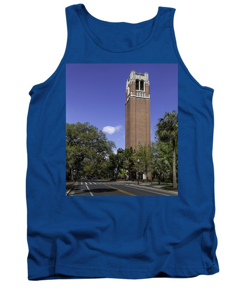 Uf Century Tower And Newell Drive Tank Top