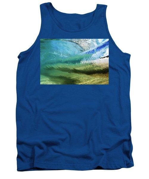 Underwater Wave Curl Tank Top