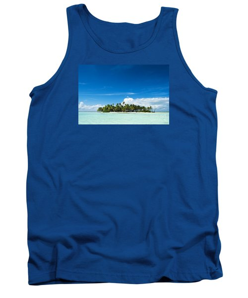 Uninhabited Island In The Pacific Tank Top by IPics Photography