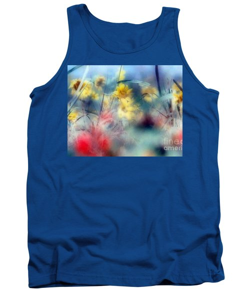 Tank Top featuring the photograph Urban Wildflowers by Michael Hoard