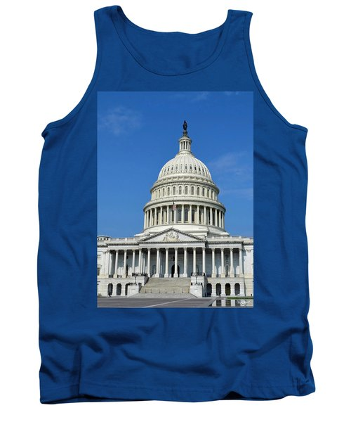 Us Capitol Building Tank Top