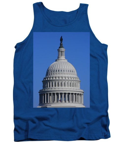 Us Capitol Dome Tank Top