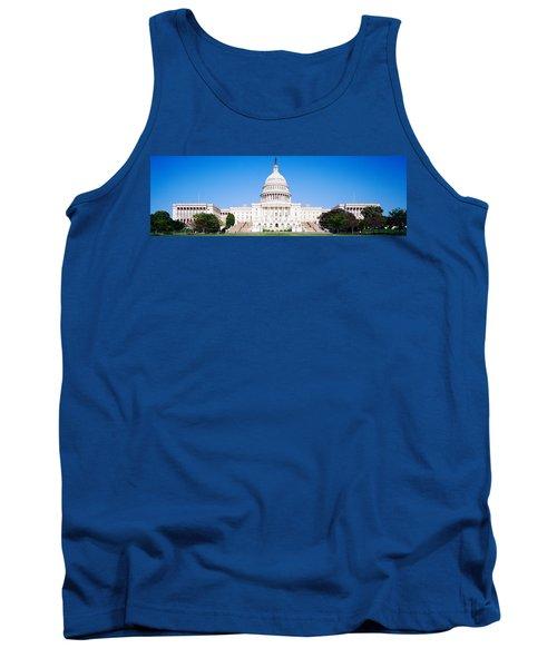 Us Capitol, Washington Dc, District Of Tank Top