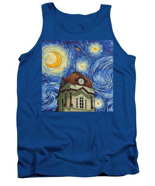 Van Gogh Courthouse Tank Top