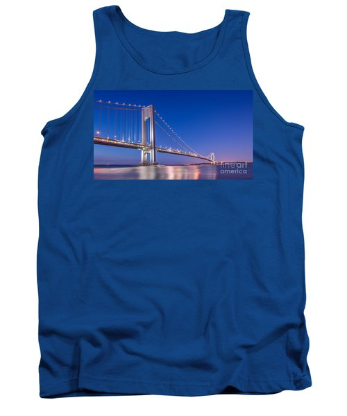 Verrazano Bridge Before Sunrise  Tank Top