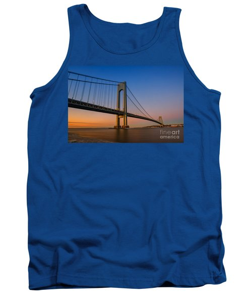 Verrazano Bridge Sunrise  Tank Top