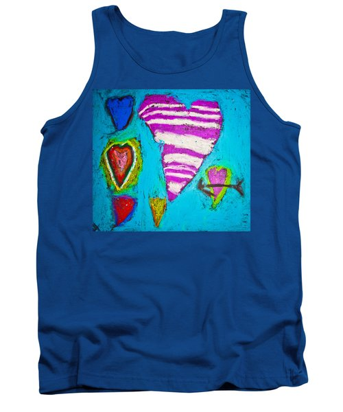Tank Top featuring the photograph Vibrant Love by Sara Frank