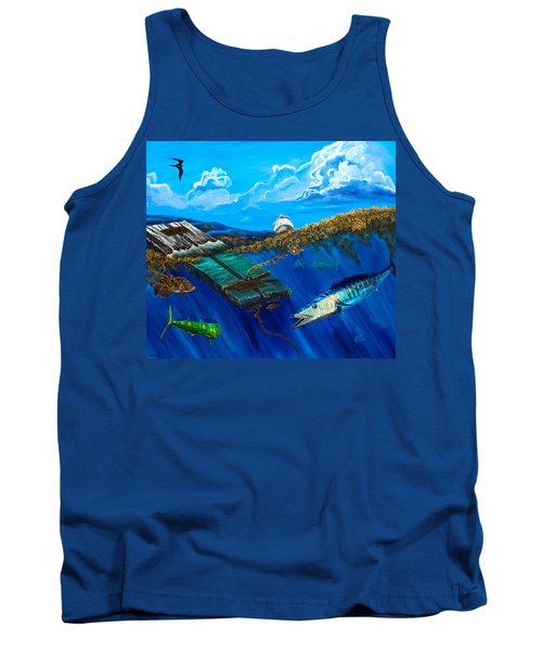 Wahoo Under Board Tank Top by Steve Ozment