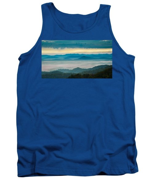 Tank Top featuring the photograph Waiting For The Sun by Joye Ardyn Durham