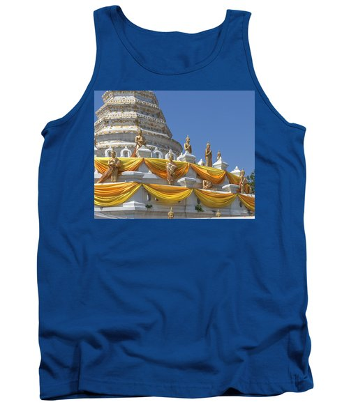 Wat Songtham Phra Chedi Buddha Images Dthb1916 Tank Top