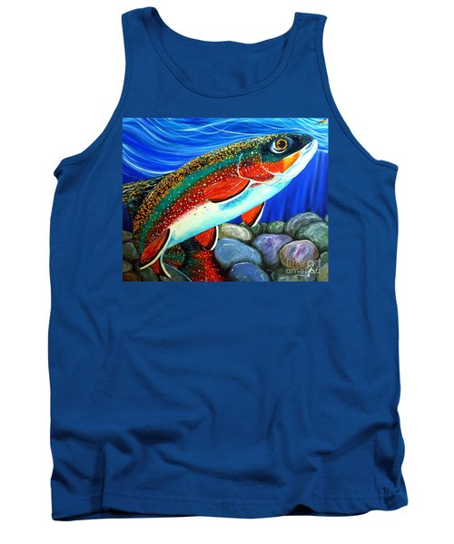 Brook Trout  Tank Top by Jackie Carpenter