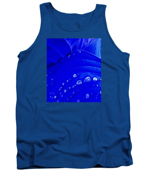 Tank Top featuring the photograph Water Droplets  by Carolyn Repka