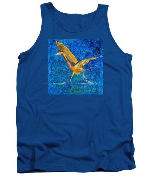 Water Run Tank Top by AnnaJo Vahle
