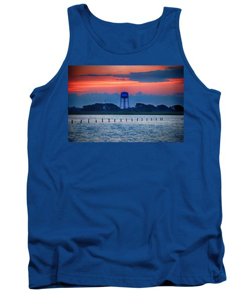 Water Tower Tank Top by Michael Thomas