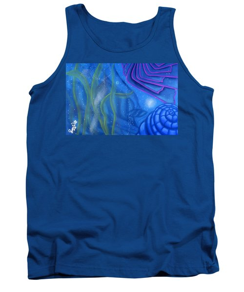 Watery Tank Top by Susan Will