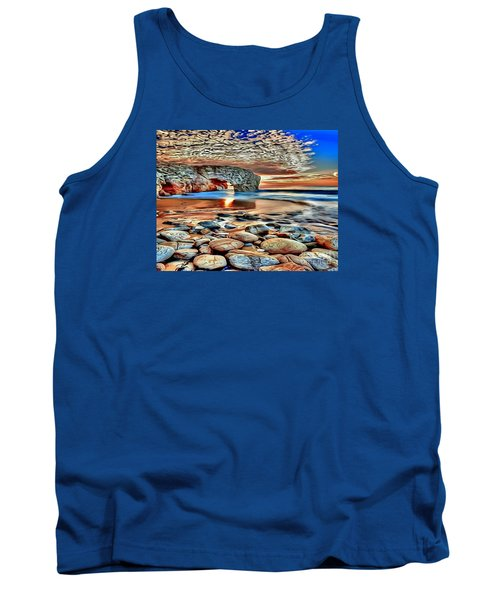 Weighed In Stone Tank Top by Catherine Lott