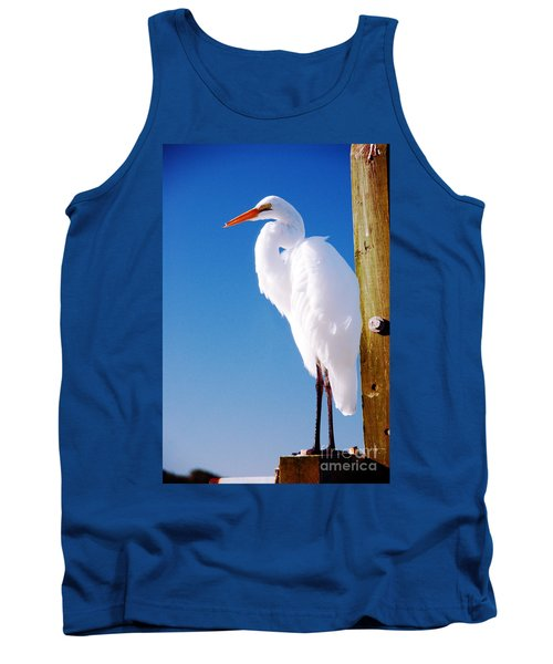 Great White Heron Tank Top