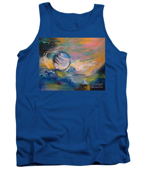 Who But You Could Leave A Trail Of Galaxies Tank Top