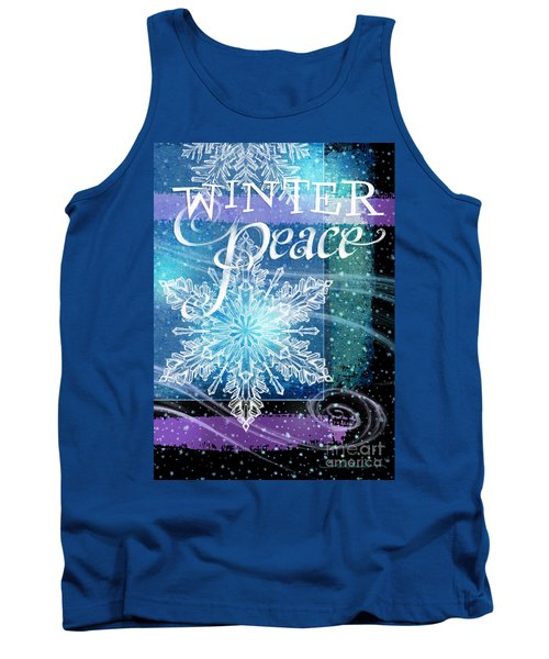 Winter Peace Greeting Tank Top
