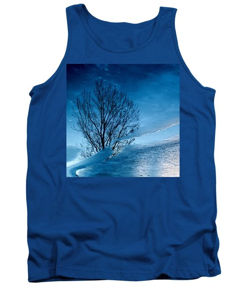 Winter Reflections Tank Top by Don Spenner