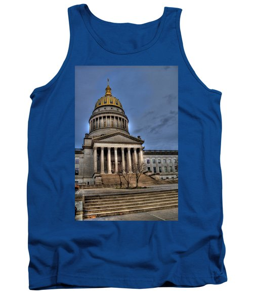 Wv Capital Building 2 Tank Top by Jonny D