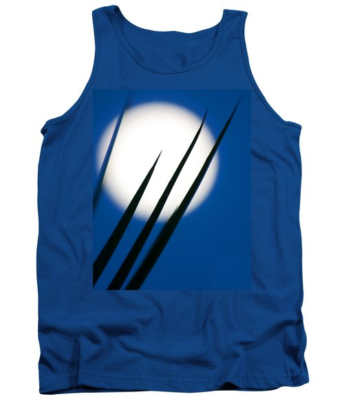 Tank Top featuring the photograph Yucca Moon by Jim Garrison