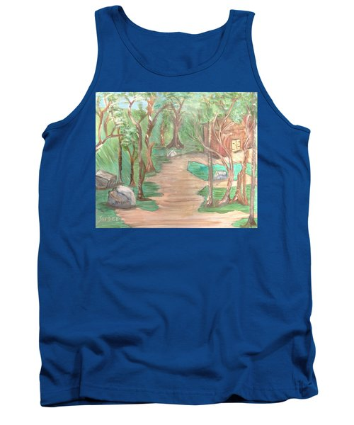 Zen House Tank Top