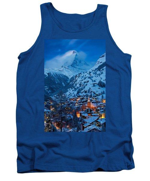 Zermatt - Winter's Night Tank Top