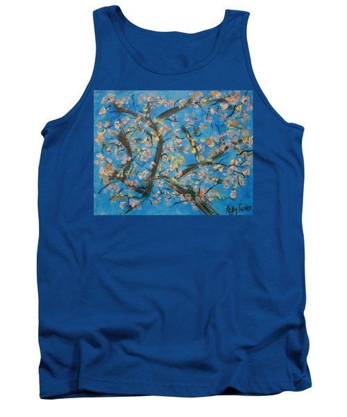 Almond Blossom  Tank Top by Kelly Turner