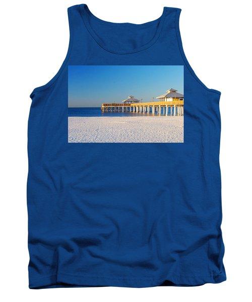Fort Myers Beach Pier Tank Top