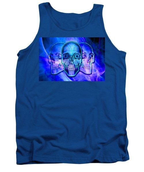 Illuminated Skulls Tank Top