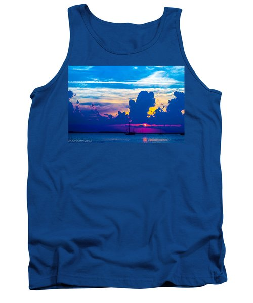 The Purple Sunset Tank Top