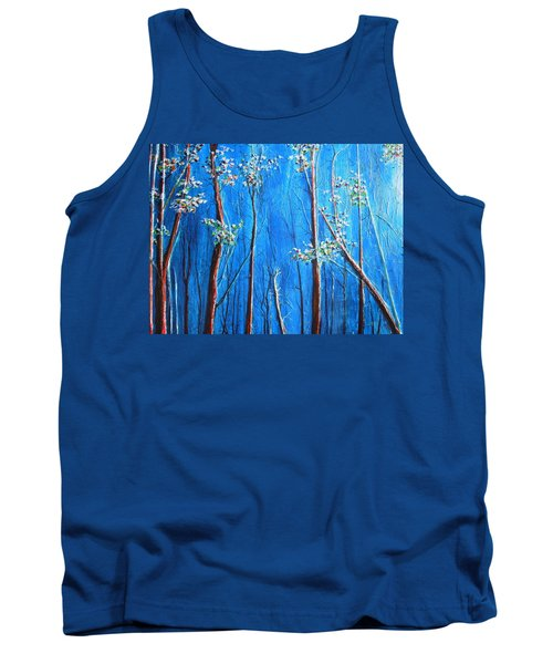 Tank Top featuring the painting Waiting by Dan Whittemore