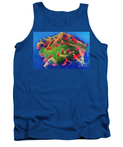 Nerve Synapses In Aplysia, Sem Tank Top