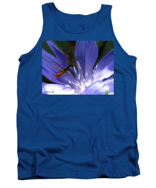 A Quiet Moment On The Chicory Tank Top by J McCombie