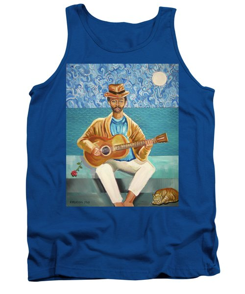 A Sad Song Tank Top by John Keaton