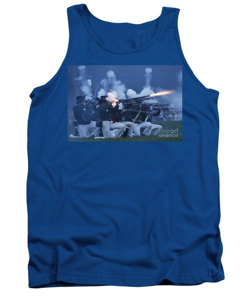 American Night Battle Tank Top